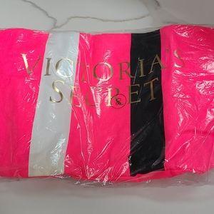 NWT Victoria's Secret Pink Stripe Tote Bag